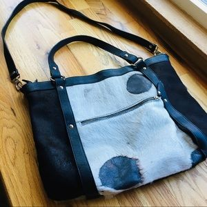 Valentina Cowhide Leather Purse